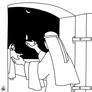 parabole jesus lampe a huile