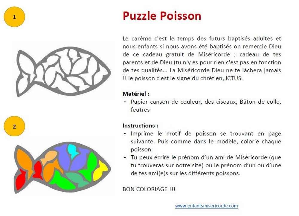 puzzle poisson careme