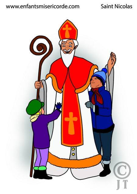 illustration saint nicolas
