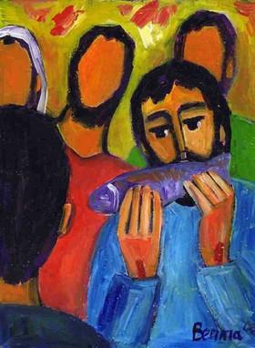 Apotres et Jesus ressucite