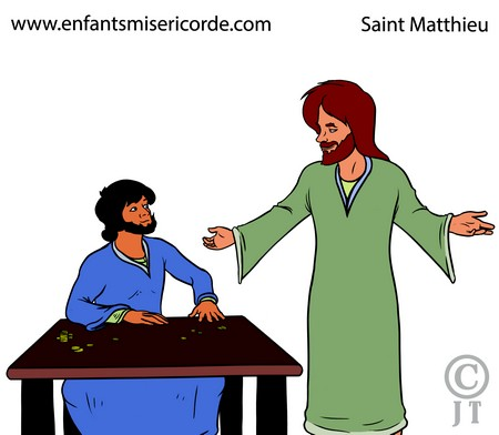 St Matthieu illustration